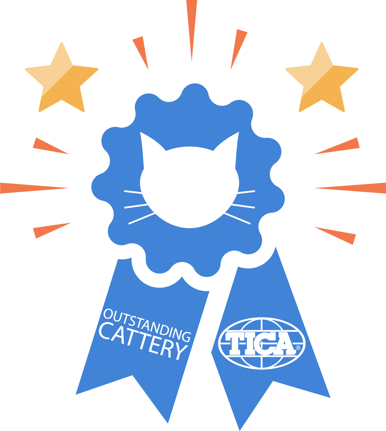 Outstanding Cattery Ribbon2019